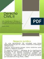 Unidad 1, Hecho y Acto Jurídico. CLASE