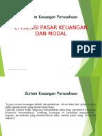 Efisiensi Keuangan Dan Pasar Modal