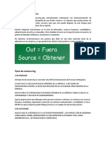 DEFINICION DE OUTSOURCING