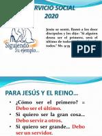 PRESENTACIÓN SERVICIO SOCIAL