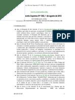 DS-N1302 - Medidas de seguridad y protección