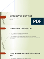 Breakover devices