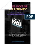 Blues Licks of the Legends