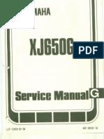 Yamaha XJ650 XJ750 Manual Pt1