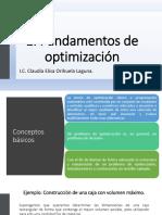 1. Fundamentos de Optimización