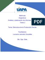 tarea 2 analisis y elaboracion de informes