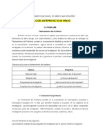 Parte N° 1 Preliminares el problema anteproyecto de grado Uniminuto CR Cúcuta