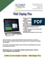 Wall Display Plus 0309