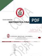 PLAN DE MATEMÁTICA FINANCIERA 2020