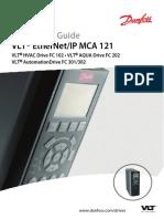VLT_EtherNet_IP MCA 121 Installation Guide
