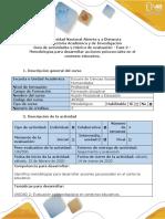 Fase 2_Metodologías para desarrollar acciones psicosociales