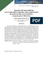 La evaluación del aprendizaje en el aula universitaria.pdf