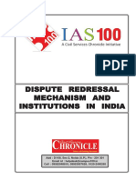 Dispute redressal mechanism and institutions in India.pdf