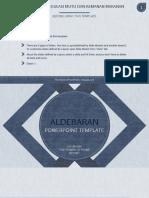 Aldebaran ppt
