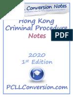 PCLLConversion.com Sample - Hong Kong Criminal Procedure Notes.pdf