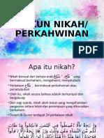 slaid RUKUN NIKAH