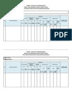 form cek list penerimaan obat dan petugas kebersihan dan obat ed