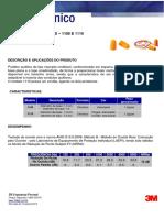 Boletim Técnico 3M 1100 1110 5674