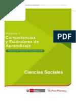 COMPETENCIAS Y ESTANDARES DE APRENDIZAJE