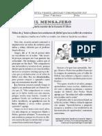 PRUEBA DIAGNÓSTICA 5 LENGUA Y LITERATURA