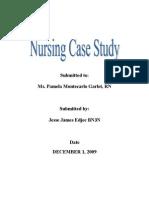 Appendicits Case Study LATEST CHANGES