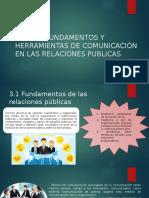 C-T3 FUNDAMENTOS Y TECNICAS DE COMUNICACION EN RELACIONES PUBLICAS