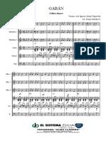 EL GABÁN - Score