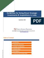 India Investment Workshop