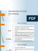 Unit 1_Introduction to cost accounting