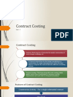 Unit 3_Contract Costing