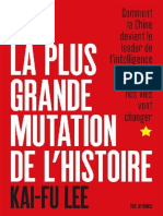 La Plus Grande Mutation de l'histoire (2019)