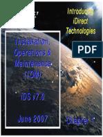 1  IOM - Introduction, 061407, iDS v7