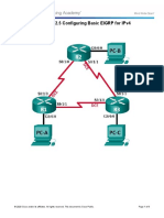 Lab 2 - Configuring Basic EIGRP for IPv4.docx