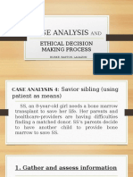 CASE ANALYSIS AND
