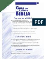 Guia de Leitura da Bíblia - Paulo - PDF