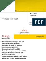 Developper dans  EBS