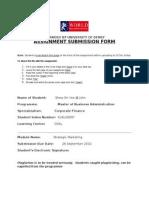 SMM - Assignment