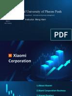 Blue Technology Work Report
