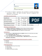 CV FOR DYNAMIC  COMPANY