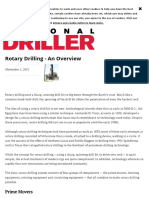 Rotary Drilling - An Overview
