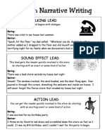 leads-in-narrative-writing