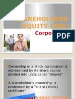 2Shareholders Equity (1)
