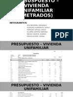 PRESUSPUESTO – VIVIENDA UNIFAMILIAR (METRADOS) (2)