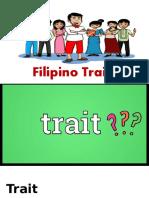 Filipino Traits