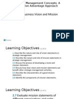 1.2 Vision and Mission Statements