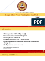 Design of Low Power Floating Gate SRAM