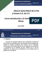 Curso Introduccion a la Ventilacion de Minas Nemisa 2019