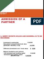 E15-7 admission