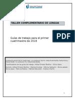 Cuadernillo TCL UNAJ