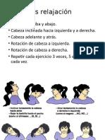 Ejercicios  vocales